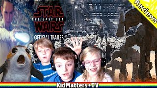 STAR WARS 8: The LAST JEDI Trailer 2 (Official) REACTION [KM+Reviews S02E04 V110]