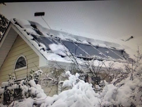 Review Should You Remove Snow From Your Solar Panels Sno
