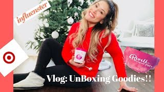 Vlog: Unboxing Goodies!