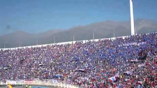 Salida U de Chile vs La Calera 06/12/014