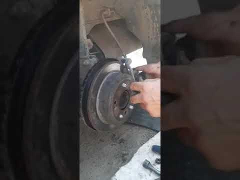 Замена шпильки задней ступицы на тагаз вега с100