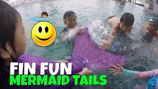 Mainan Ekor Putri Duyung anak kecil fin fun mermaid tail unboxing lifia niala