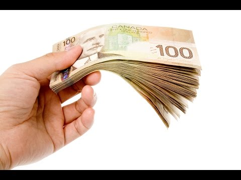 Quick Cash  - Powerful 6 mins Money Visualization with Binaural Beats ** Canadian Dollars** MUST SEE