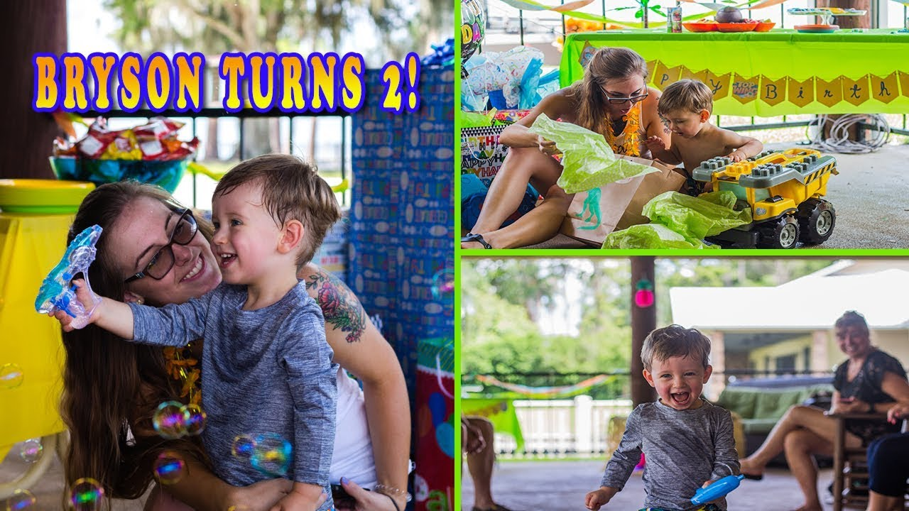 BRYSONS 2nd BIRTHDAY PARTY