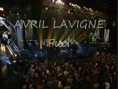 Avril Lavigne- Fuel (Metallica cover) + lyrics