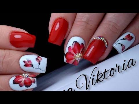Фото ногти цветы