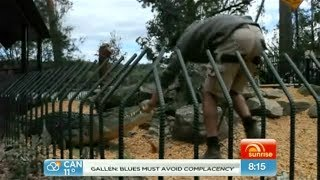 Crocodile attacks Shoalhaven Zoo Keeper