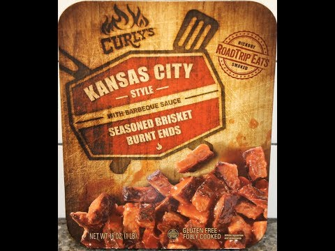 Curly's Kansas City Style Seasoned Brisket Burnt Ends with Barbeque Sauce Review
