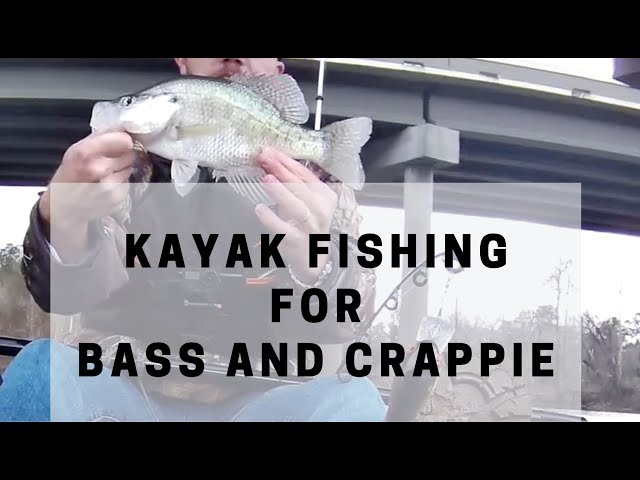Lifetime Tamarack Angler Kayak Fishing for Bass and Crappie