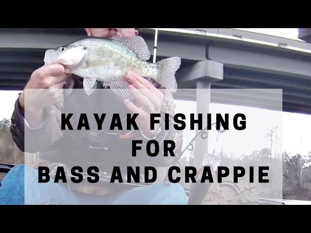 Lifetime Tamarack Angler Kayak Fishing for Bass and Crappie