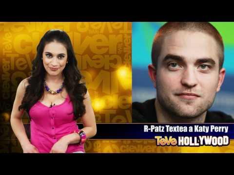 Robert Pattinson Texteando a Katy Perry