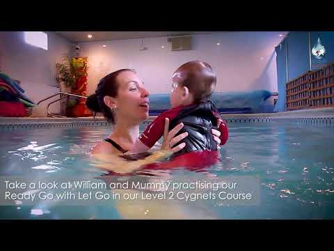 Our Aquatots in Action | Aquatots Level 2 Skills Example Baby William