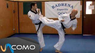 Ataque y contraataque taekwondo