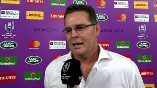 Rugby World Cup | SF2 | Wales v South Africa | Post-match interview with Rassie Erasmus