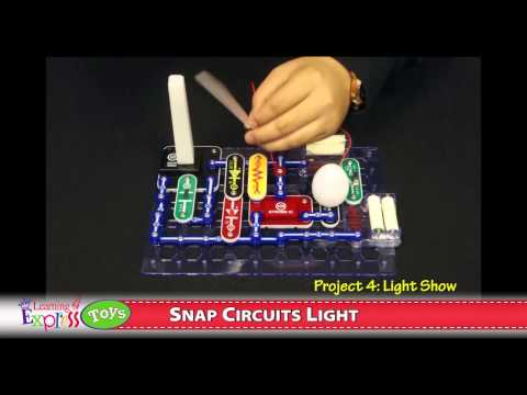 snap circuits light set youtubeSnap Circuits Light Model Scl175 Review Youtube #6
