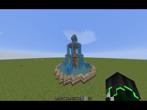 Download Minecraft How To Build A Fountain Tutorial Yubtopia Part1