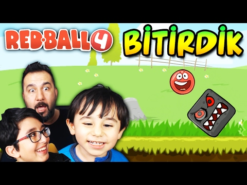 KIRMIZI TOP! BİTİRDİK! | RED BALL 4 FİNAL