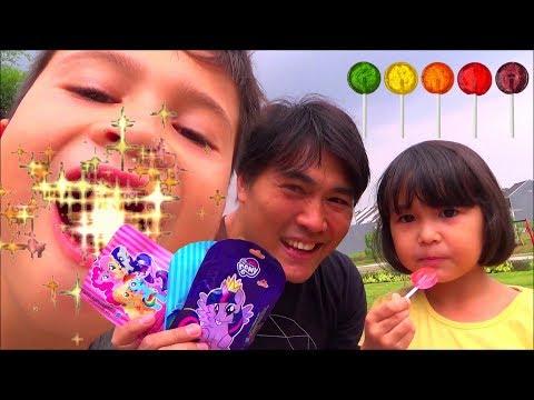 Permen Lollipop My Little Pony - Nyobain Lolipop Rasa Buah