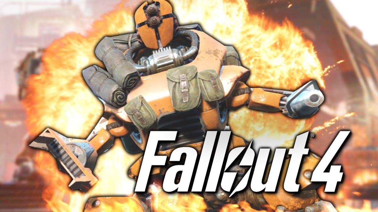 Я СОЗДАЛ МОНСТРА-РОБОТА! - FALLOUT 4 (Automatron) | Азартные Игры Fallout