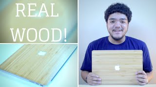 Real Bamboo Macbook Pro Skin!