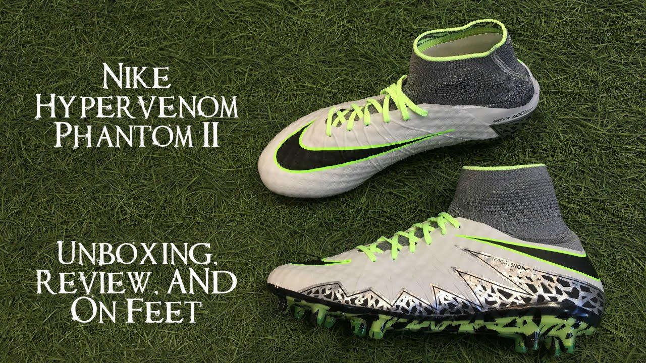 Nike Hypervenom Phantom 2 Elite Pack Unboxing Review On Feet