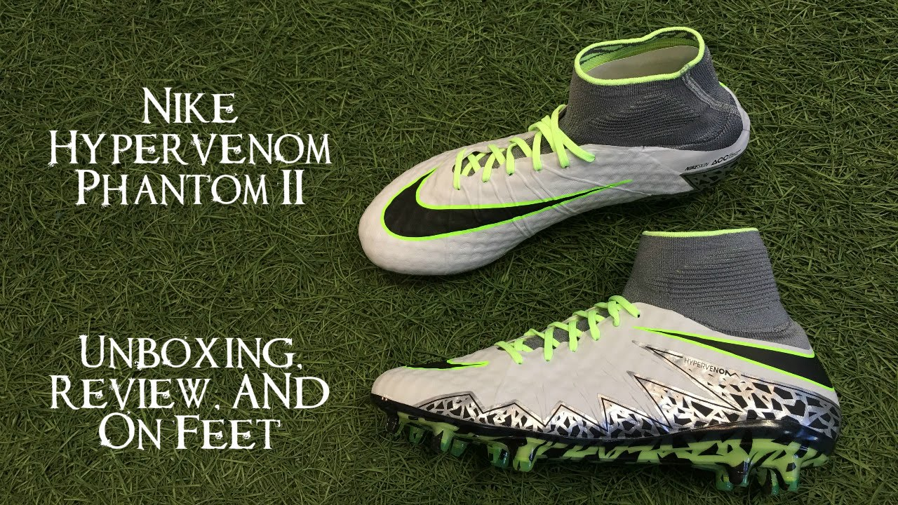Tía Sentirse mal cantidad  Nike Hypervenom Phantom 2 (ELITE PACK) - Unboxing, Review & On ...