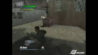 Dead to Rights II PlayStation 2 Gameplay - Boom and Bang