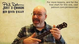 Red River Valley ukulele lesson