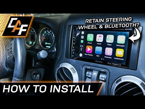 How To Install Aftermarket Radio (Jeep Wrangler 2011-2017)
