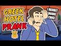 Pranks Gone Wrong - Greek Hotel Prank Call - OwnagePranks
