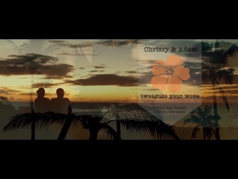 Turtle Bay Resort - Hawaii wedding film // Chrissy + Adam | tweasure your wove [feature film]
