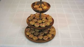 Cheesy Bacon Rotel Cups -- Lynn's Recipes 4th Of July