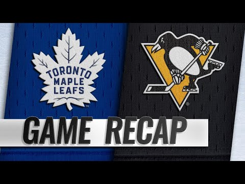 Rielly, Andersen lead Maple Leafs past Penguins, 5-0