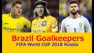 Brazil GoalKeepers Skills, FIFA World Cup Russia 2018 (Official Video), Alisson, Ederson, Cassio