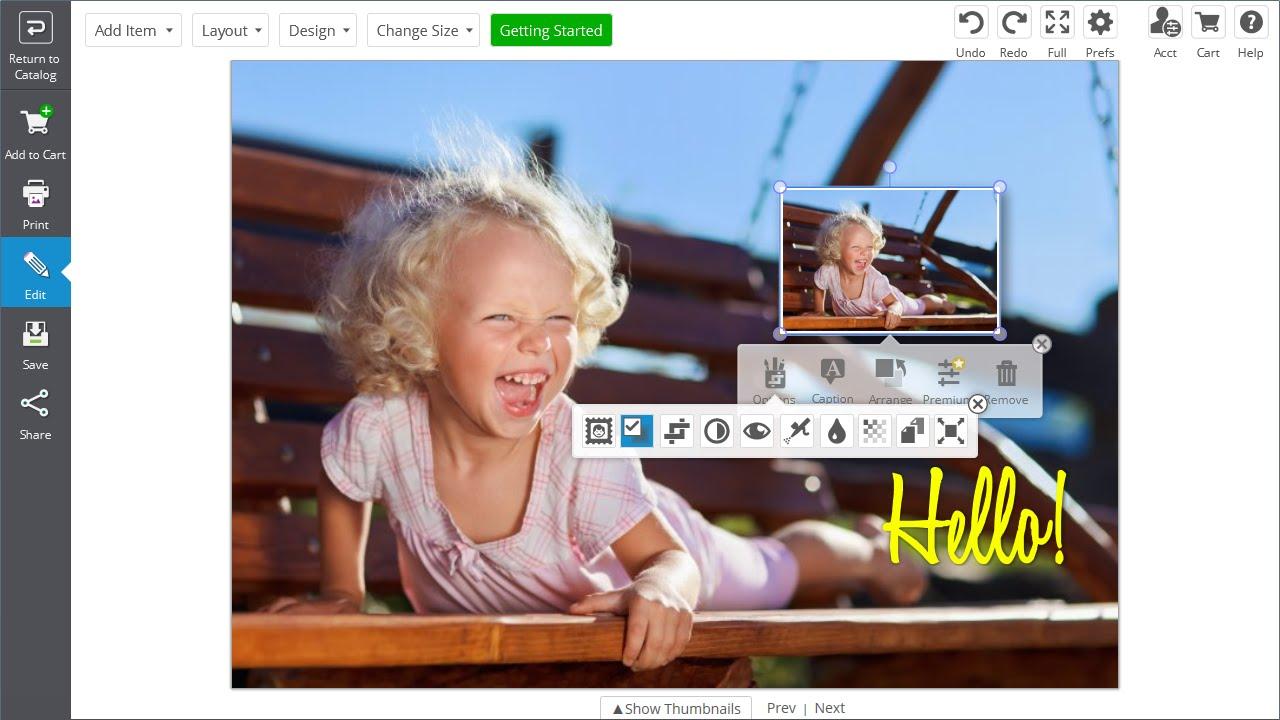 HP Photo Creations - Design, Print and Share Amazing Keepsakes   HP