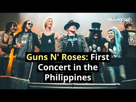 Guns N' Roses: First concert in the Philippines Mp3