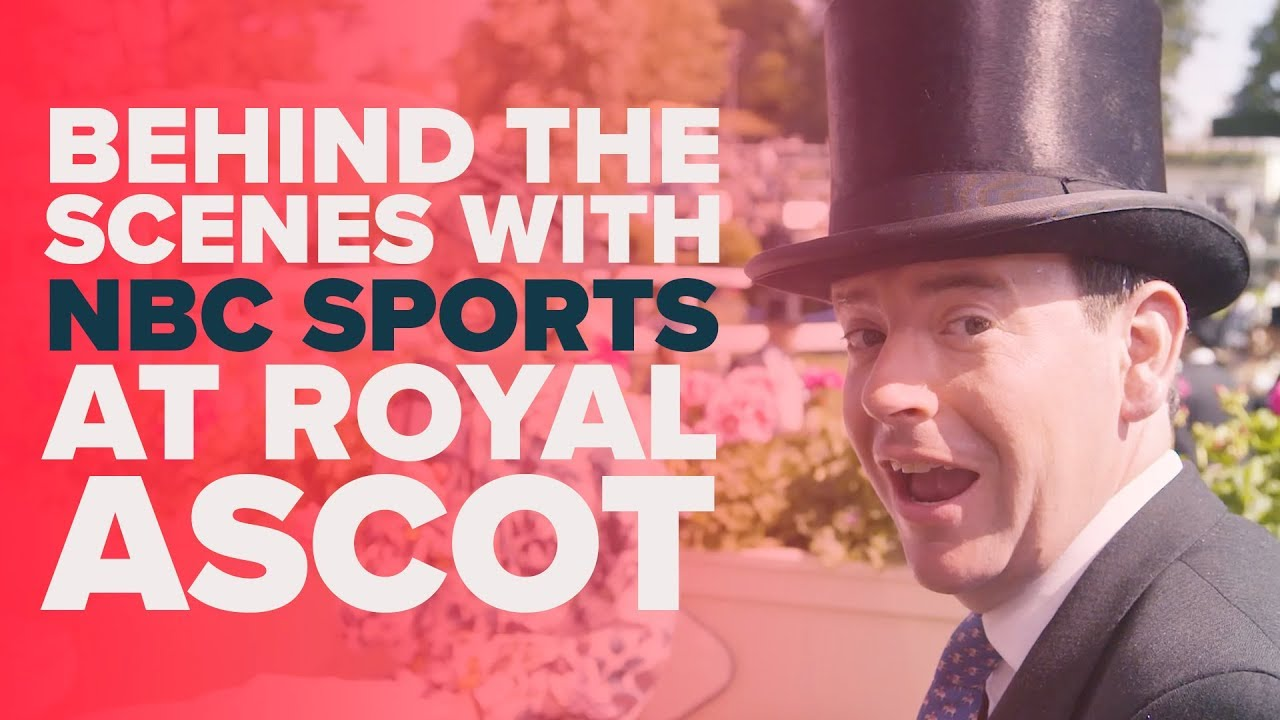 NBC SPORTS | Behind the scenes | Royal Ascot 2018