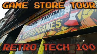 Sore Thumb Retro Game Store Tour