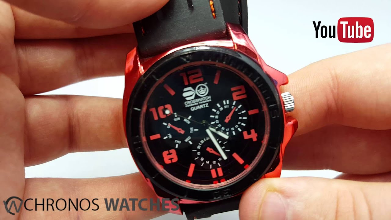 Take A Look At The CROSSHATCH CRS31-C MENS Watch Chronos Watches ... b0a85d7e3d5