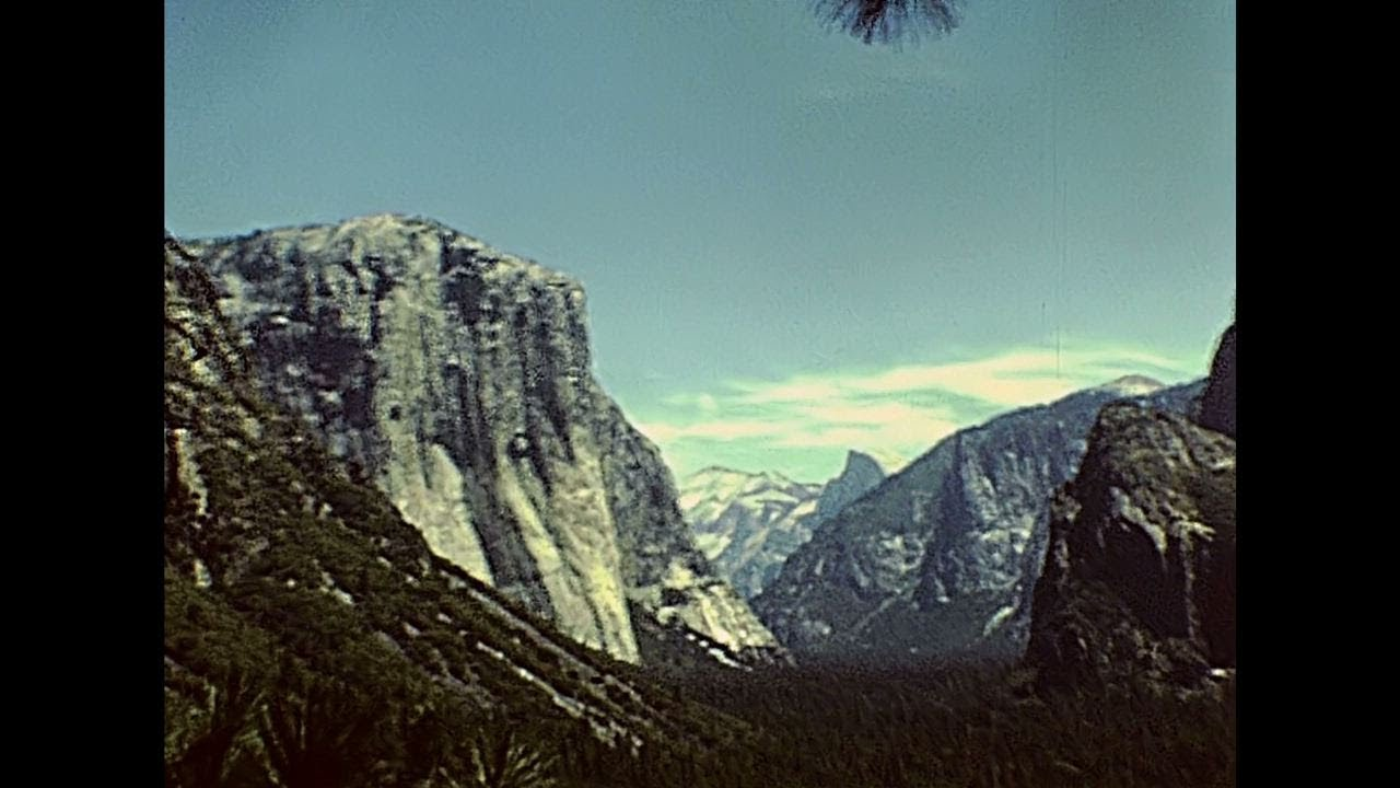 Life in Yosemite 1979 – Archive Footage