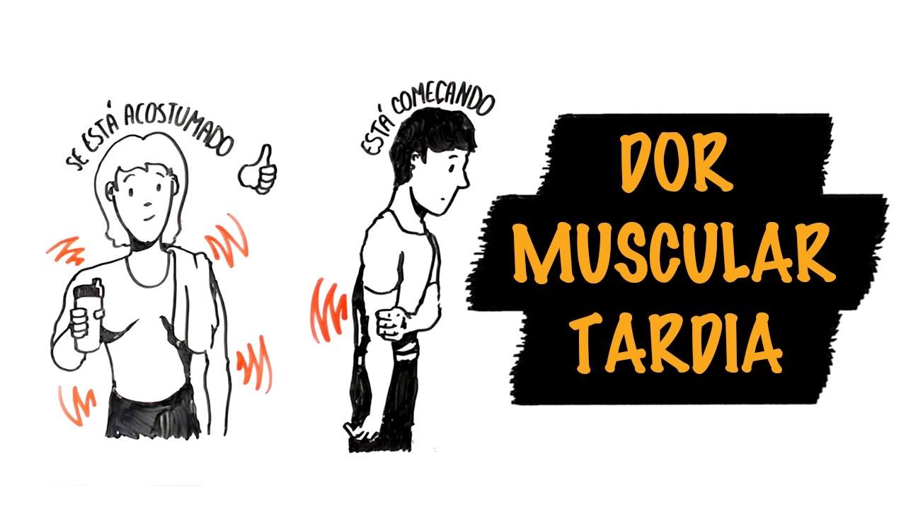 como aliviar dores musculares após o treino