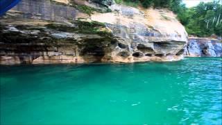 Pictured Rocks U.P. Michigan Lake Superior