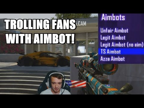 TROLLING MY FANS WITH AIMBOT! (THEY THOUGHT I HIT)