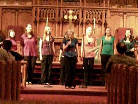 Mizzou's premiere women's a cappella group In Melting port concert for yirui part2