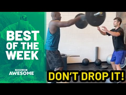 Best of the Week: Balance Tricks, Soccer Skills & More   People Are Awesome