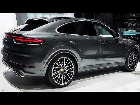 Porsche Cayenne Coupe 2020 Walkaround Youtube