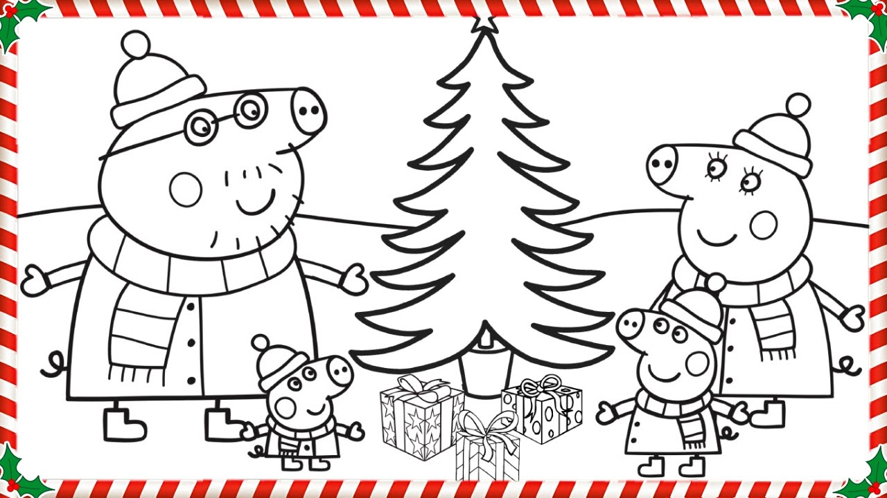Coloring Pages Of Christmas Trees - Coloring Home | 720x1280
