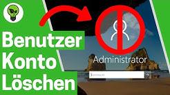 Windows 10 Benutzerkonto Löschen ✅ ULTIMATIVE ANLEITUNG: Wie PC Benutzer Konto & Account Entfernen?