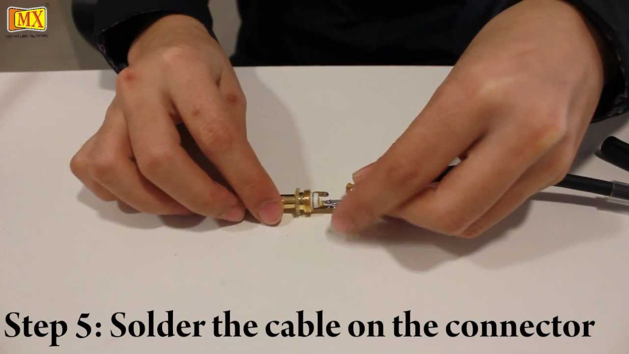 How To Make Xlr Trs Connector Youtube 4 Pin Wiring Diagram