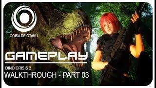Dino Crisis 2-#3 Modo Hard(Queimando As Plantas)